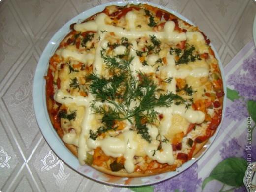 Я очень люблю пиццу, поэтому с удовольствием помогаю маме её готовить.  фото 8