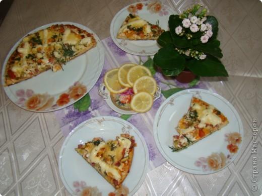 Я очень люблю пиццу, поэтому с удовольствием помогаю маме её готовить.  фото 1