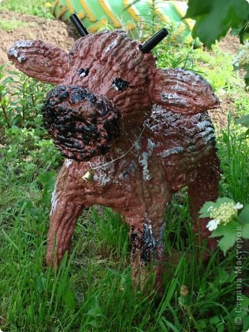 Бычок своими руками из дерева фото 72