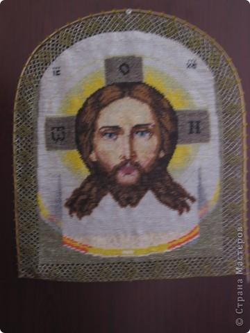 Картина панно рисунок Пасха Бисероплетение Иконы из бисера Бисер фото 5.