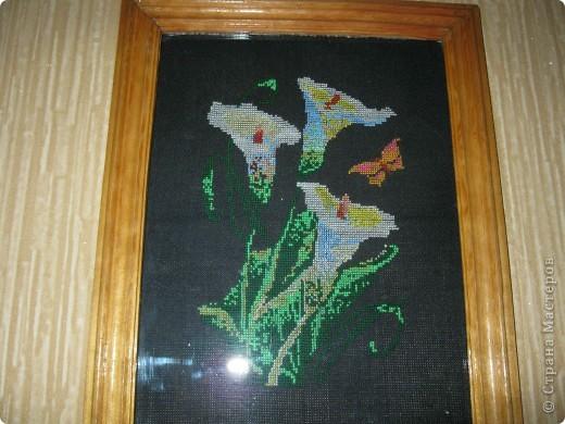 Это работы моей мамы))). Вышивка крестиком. фото 3