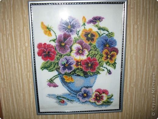 Это работы моей мамы))). Вышивка крестиком. фото 1