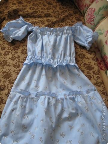Платьице для младшей доченьки.