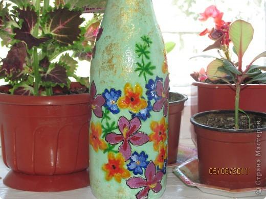 Такая вот получилась летняя бутылочка. фото 1
