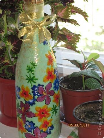 Такая вот получилась летняя бутылочка. фото 2
