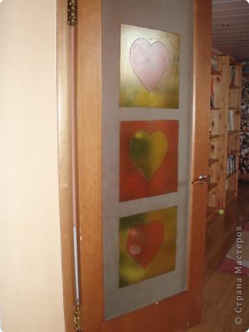 Стекло в дверь фото 2