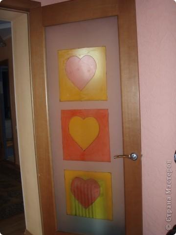 Стекло в дверь фото 1