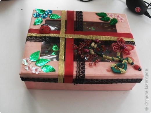вот такая коробочка получилась ) фото 3