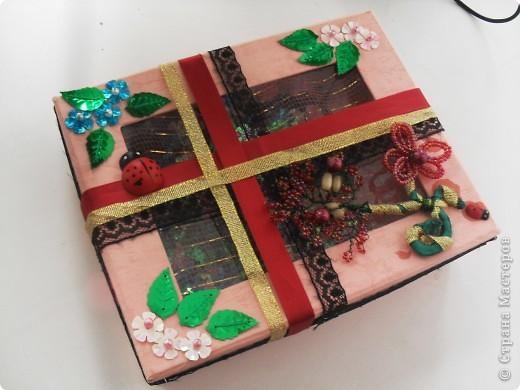 вот такая коробочка получилась ) фото 4