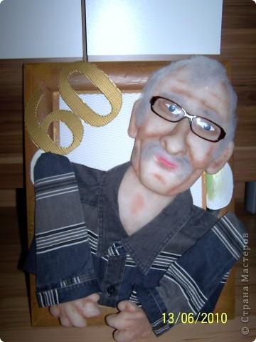 подарок папе  первыи портрет  фото 1