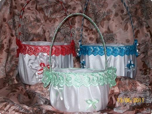 Эта корзина предназначена не только для лепестков роз, но и под конфети) фото 2