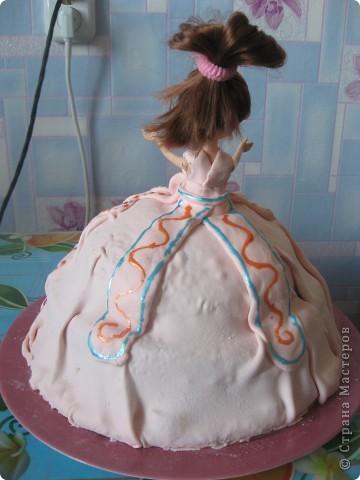 Торт-кукла фото 3