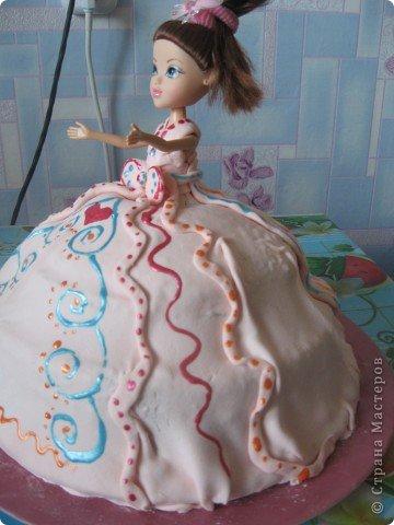 Торт-кукла фото 2