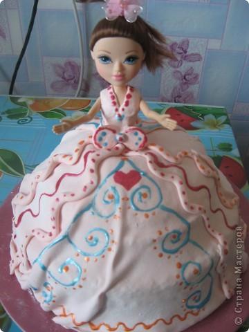Торт-кукла фото 1