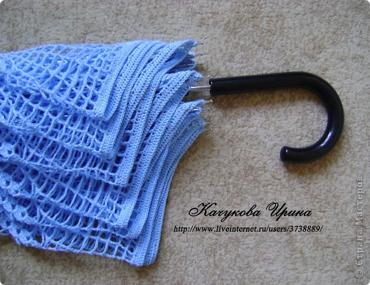 Вязание крючком Зонт