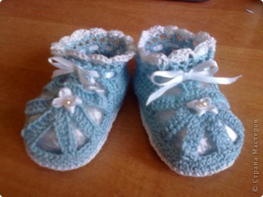 голубые туфельки фото 4