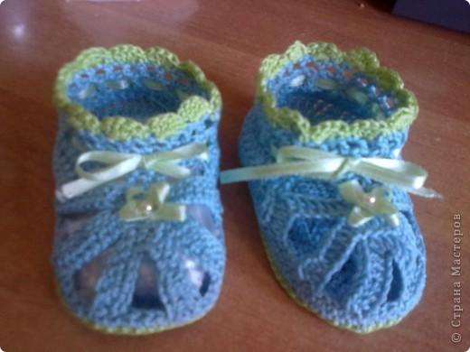 голубые туфельки фото 5