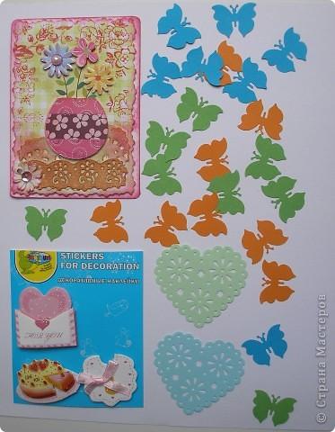 У меня сегодня большая радость-получила сразу два письма с подарочными АТС от Юли-Yulia L и Лили (Ульяновск). Это подарки от Юли. Сама открыточка, замечательные декоративные наклейки, ажурные сердечки и много разноцветных бабочек! Юля, как догадалась, что я люблю бабочек и мечтала о таких? фото 1