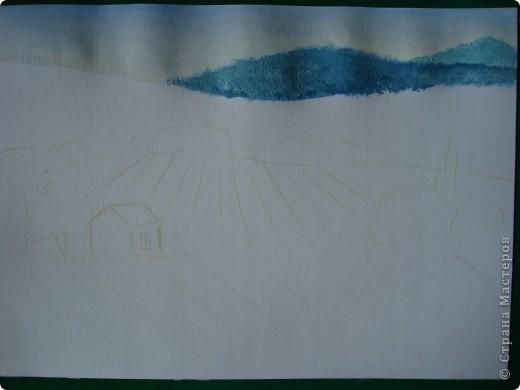 Здравствуйте,мои дорогие.Сегодня предлагаю вместе со мной нарисовать Маковое поле.Долго не решалась браться за эту работу.Но благодаря Светлане(girasole2161) всё же решилась.Её маки в подарок были последним весомым доводом.Так что,Светлана,это мой ответный подарок вам,ну и,конечно всем любителям живописи. фото 4