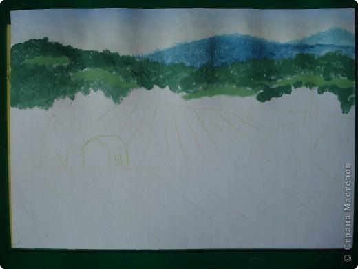 Здравствуйте,мои дорогие.Сегодня предлагаю вместе со мной нарисовать Маковое поле.Долго не решалась браться за эту работу.Но благодаря Светлане(girasole2161) всё же решилась.Её маки в подарок были последним весомым доводом.Так что,Светлана,это мой ответный подарок вам,ну и,конечно всем любителям живописи. фото 5