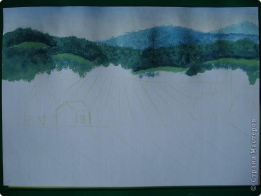 Здравствуйте,мои дорогие.Сегодня предлагаю вместе со мной нарисовать Маковое поле.Долго не решалась браться за эту работу.Но благодаря Светлане(girasole2161) всё же решилась.Её маки в подарок были последним весомым доводом.Так что,Светлана,это мой ответный подарок вам,ну и,конечно всем любителям живописи. фото 6