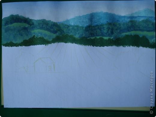 Здравствуйте,мои дорогие.Сегодня предлагаю вместе со мной нарисовать Маковое поле.Долго не решалась браться за эту работу.Но благодаря Светлане(girasole2161) всё же решилась.Её маки в подарок были последним весомым доводом.Так что,Светлана,это мой ответный подарок вам,ну и,конечно всем любителям живописи. фото 7