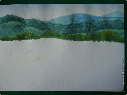 Здравствуйте,мои дорогие.Сегодня предлагаю вместе со мной нарисовать Маковое поле.Долго не решалась браться за эту работу.Но благодаря Светлане(girasole2161) всё же решилась.Её маки в подарок были последним весомым доводом.Так что,Светлана,это мой ответный подарок вам,ну и,конечно всем любителям живописи. фото 8