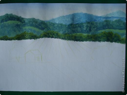 Здравствуйте,мои дорогие.Сегодня предлагаю вместе со мной нарисовать Маковое поле.Долго не решалась браться за эту работу.Но благодаря Светлане(girasole2161) всё же решилась.Её маки в подарок были последним весомым доводом.Так что,Светлана,это мой ответный подарок вам,ну и,конечно всем любителям живописи. фото 9
