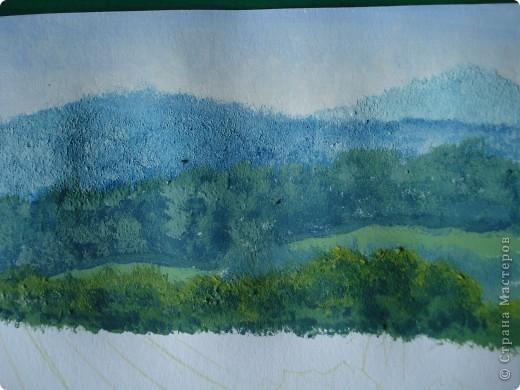 Здравствуйте,мои дорогие.Сегодня предлагаю вместе со мной нарисовать Маковое поле.Долго не решалась браться за эту работу.Но благодаря Светлане(girasole2161) всё же решилась.Её маки в подарок были последним весомым доводом.Так что,Светлана,это мой ответный подарок вам,ну и,конечно всем любителям живописи. фото 11
