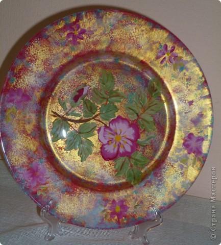 так смотрится эта тарелка при ярком освещении фото 1