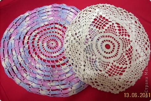 Схемы вязания для кипы