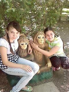 Мы возле входа в Зоопарк фото 18