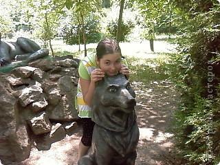 Мы возле входа в Зоопарк фото 19