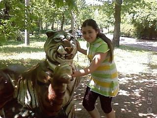 Мы возле входа в Зоопарк фото 22