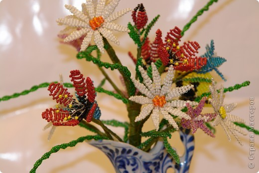 Букетик полевых цветов. фото 1