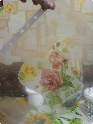 Декупаж баночки от жидкого мыла!! фото 6