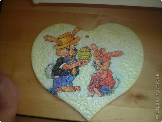 яичная скорлупа, отливка сердце - люблю ее! фото 1