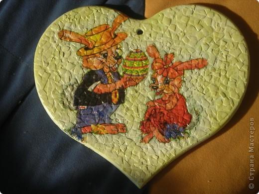 яичная скорлупа, отливка сердце - люблю ее! фото 5
