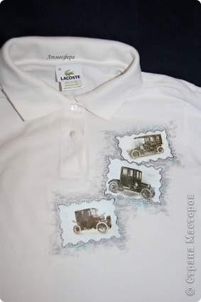 Мужкая футболка-поло