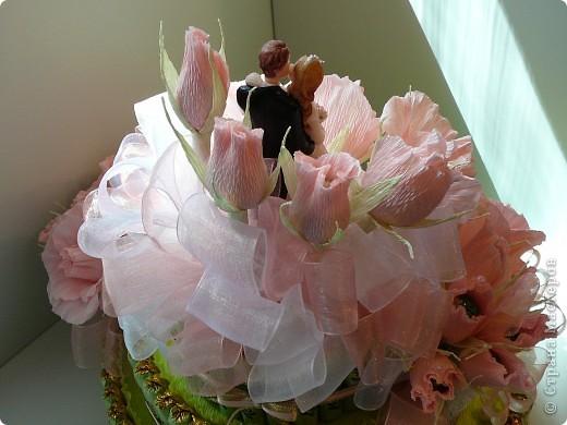 Торт свадебный. фото 7