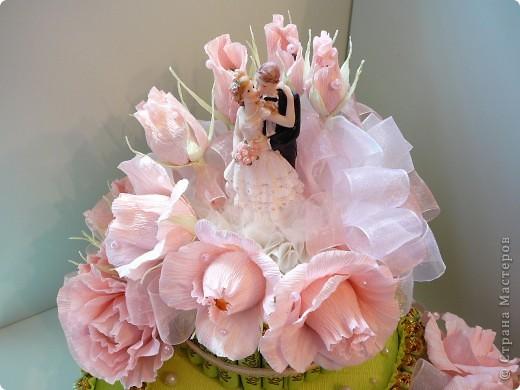 Торт свадебный. фото 3