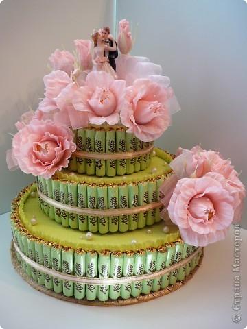 Торт свадебный. фото 1