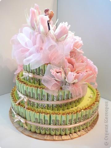 Торт свадебный. фото 6