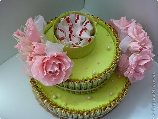 Торт свадебный. фото 8