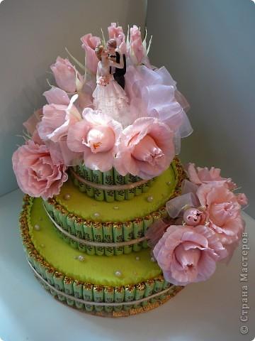 Торт свадебный. фото 11