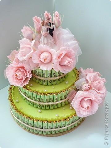 Торт свадебный. фото 2