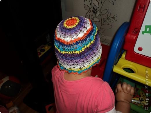 Летние шапочки на ребёнка фото 5