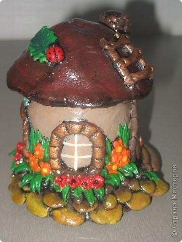 Вот такой грибок-теремок получился))) фото 2