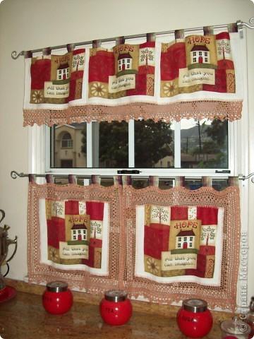Кухонные занавески фото 2