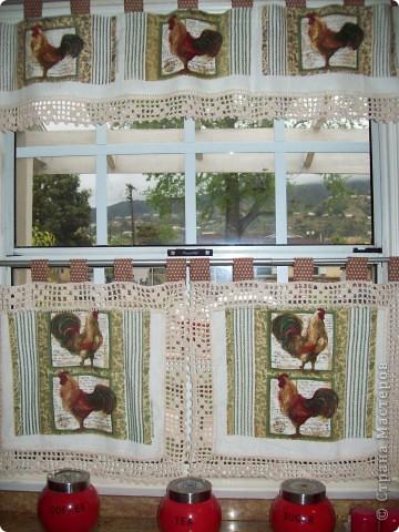 Кухонные занавески фото 1